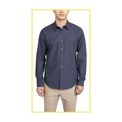 新品Theory Men's Long Sleeve Irving Shirt, Nordic Multi, Medium並行輸入品
