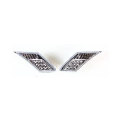 VALENTI(ヴァレンティ) ジュエルLEDサイドマーカー 86/BRZ クリア/クローム SDM86Z-CC