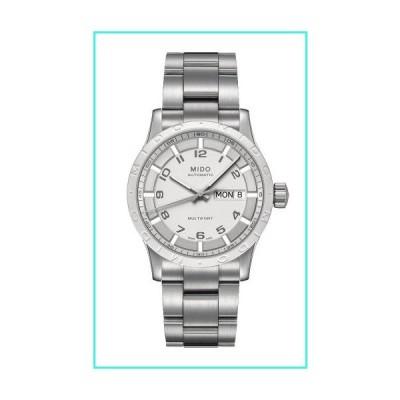 【新品】Mido M0188301101200 Multifort Mens Watch - Silver Dial Automatic(並行輸入品)