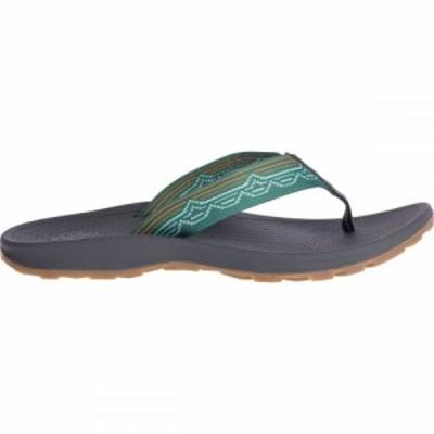 チャコ Chaco レディース ビーチサンダル シューズ・靴 Playa Pro Web Flip Flop Blip Teal
