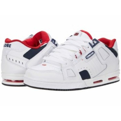 Globe グローブ メンズ 男性用 シューズ 靴 スニーカー 運動靴 Sabre White/Blue/Red【送料無料】