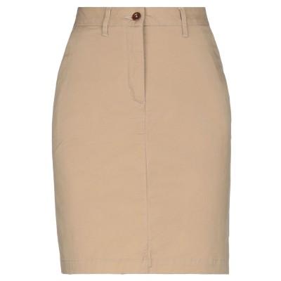 ガント GANT ひざ丈スカート サンド 36 コットン 98% / ポリウレタン 2% ひざ丈スカート