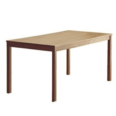ダイニングテーブル 135cm 国産 4人掛け 天然木 長方形 ダイニングテーブルのみ オーク 【超大型商品】 42600000 01