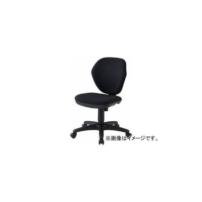 トラスコ中山/TRUSCO オフィスチェア 黒 T10BK(4086406) JAN:4989999168396