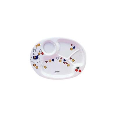 メラミンお子様食器 「ミッフィー」 CM-69 ランチ皿 318×242×H22mm
