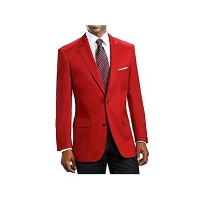 EZ Tuxedo BLAZER メンズ US サイズ: 50 Long カラー: レッド