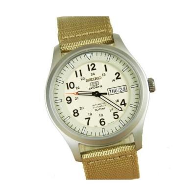 腕時計 セイコー Seiko 5 Sports Military Automatic Beige Watch SNZG07K1 SNZG07 SNZG07K