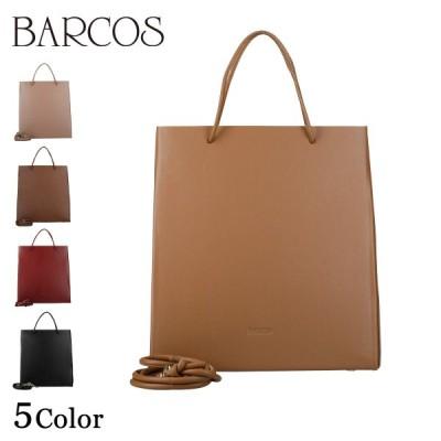 BARCOS 2way PUマチ付きハンドバッグ レディース 全5色 ONESIZE バルコス