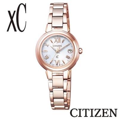 【正規販売店】CITIZEN シチズン XC クロスシー エコドライブ 電波時計  ES9435-51A ハッピーフライト 電波 CITIZEN レディース 腕時計
