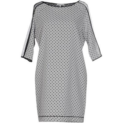 パトリツィア ペペ PATRIZIA PEPE ミニワンピース&ドレス ライトグレー 42 ポリエステル 100% ミニワンピース&ドレス