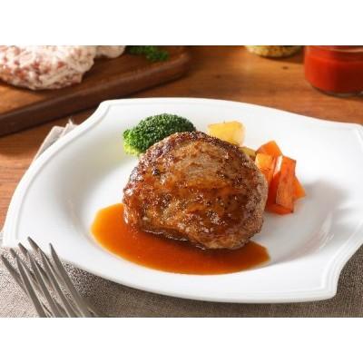 山梨県産 熟成肉『極』網脂ハンバーグ10個セット