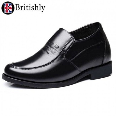 Britishly(ブリティッシュリィ) Milton Keynes mkII (Formal Loafer) 8cmアップ 英国式シークレットシューズ