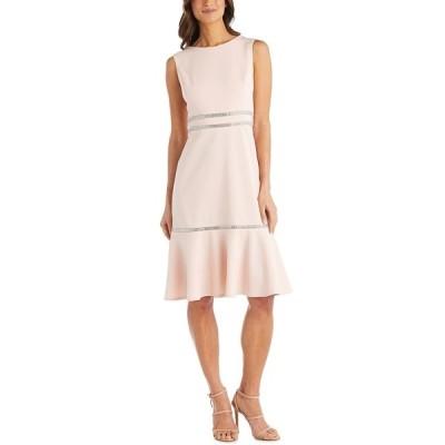 アールアンドエムリチャーズ ワンピース トップス レディース Rhinestone-Detail Dress Blush