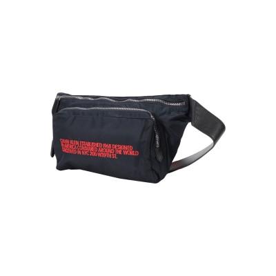CALVIN KLEIN 205W39NYC バックパック&ヒップバッグ ブルー 紡績繊維 / 革 バックパック&ヒップバッグ
