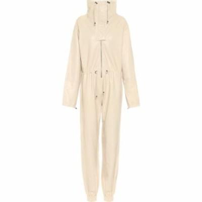 ドド バー オア Dodo Bar Or レディース オールインワン ジャンプスーツ ワンピース・ドレス High-Neck Leather Jumpsuit Cream