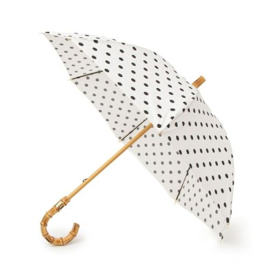 SHIPS for women / Traditional Weatherwear:バンブーハンドル ドットアンブレラ WOMEN ファッション雑貨 > 長傘