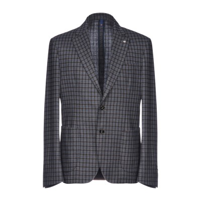 DOMENICO TAGLIENTE テーラードジャケット ブルーグレー 46 ウール 60% / ポリエステル 40% テーラードジャケット