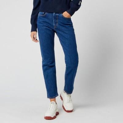 リーバイス Levi's レディース ジーンズ・デニム ボトムス・パンツ 501 Crop Jeans Blue