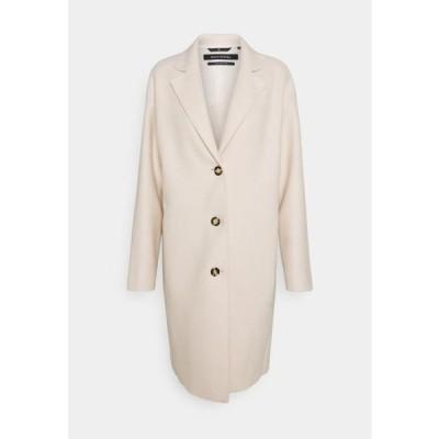 マルコポーロ レディース ファッション SINGLE BREASTED - Classic coat - natural white
