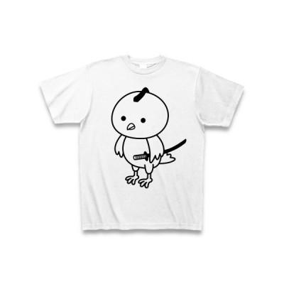 トリ侍 Tシャツ(ホワイト)