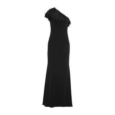 BADGLEY MISCHKA ロングワンピース&ドレス ブラック 2 ポリエステル 98% / ポリウレタン 2% ロングワンピース&ドレス