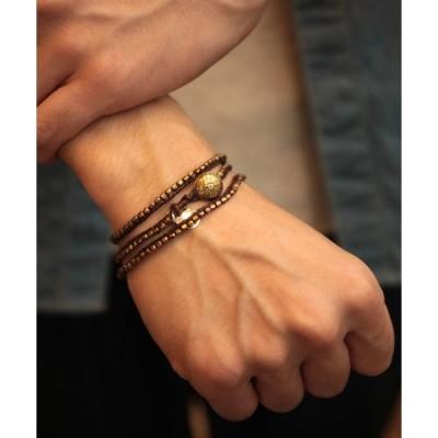 ブレスレット Stitched Seeds Beads Bracelet_(Long)ビーズ ブレスレット