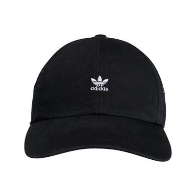 アディダス オリジナルス Originals Relaxed Mini Logo レディース 帽子 Black/White
