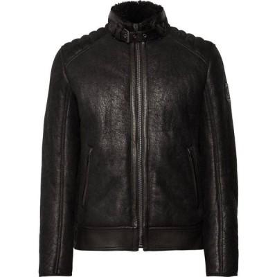 ベルスタッフ BELSTAFF メンズ レザージャケット アウター leather jacket Black