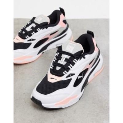 プーマ レディース スニーカー シューズ Puma RS-Fast sneakers in white and pink Pi1 - pink 1