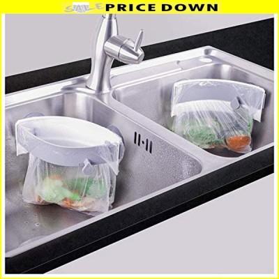 三角コーナー 開閉可能生ゴミ袋ホルダー キッチンシンクを広く使える さんかくコーナー いらず 省スペース 水
