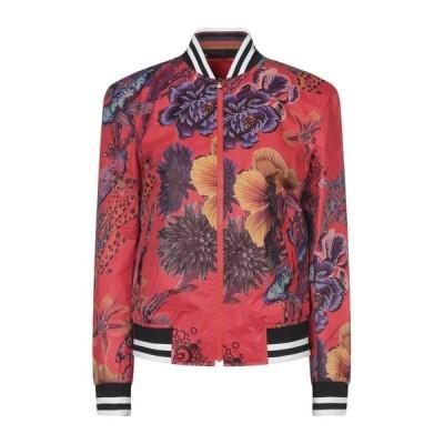 PAUL SMITH ボンバージャケット ファッション  レディースファッション  ジャケット  ブルゾン、ジャンバー レッド