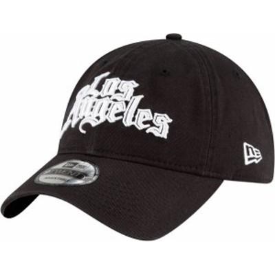 ニューエラ メンズ 帽子 アクセサリー New Era Men's 2020-21 City Edition Los Angeles Clippers 9Twenty Adjustable Hat -