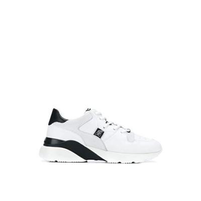 Hogan Luxury Fashion Woman HXW3850CG40IGG0001 White Leather Sneakers | Fall Winter 19 並行輸入品