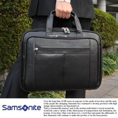 Samsonite サムソナイト メンズ ブリーフケース 本革 2層 ビジネスバッグ 43122-1041 Samsonite
