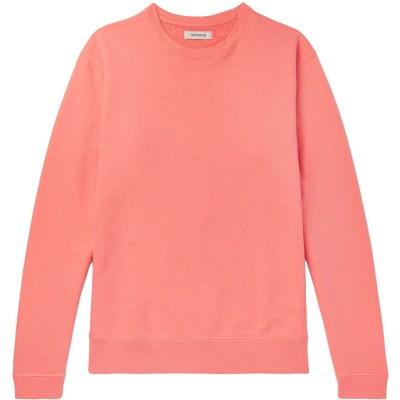 NONNATIVE スウェットシャツ サーモンピンク 1 コットン 100% スウェットシャツ