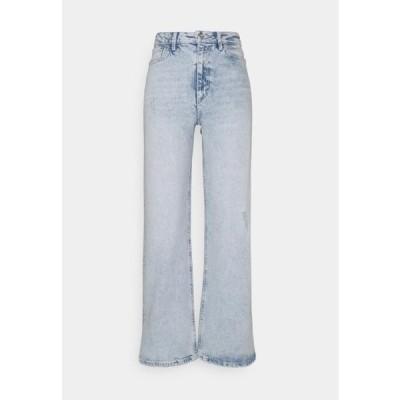 レディース ファッション PCSUI - Relaxed fit jeans - light blue denim
