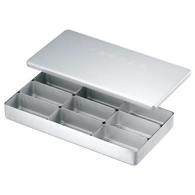(業務用・食缶)アルミ 検食保存容器 C-9(入数:1)