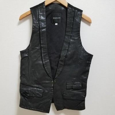 BUFFALO BOBS バッファローボブズ ベスト ベスト Vest 襟付 ゴートスキンレザー ベスト 10023081