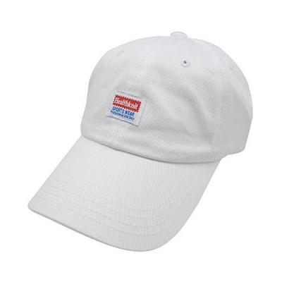Healthknit ヘルスニット メンズ レディース キャップ 帽子 ロゴ CAP 291-4095 (4095 01ホワイト)