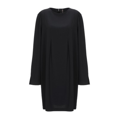マニラ グレース MANILA GRACE ミニワンピース&ドレス ブラック 44 ポリエステル 88% / ポリウレタン 12% ミニワンピース&