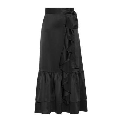 CO 7分丈スカート ブラック XS トリアセテート 86% / ポリエステル 14% 7分丈スカート