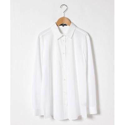 【ラ・エフ】 J-CAMICIE1Xシャツ レディース ホワイト 17号(46) la.f...