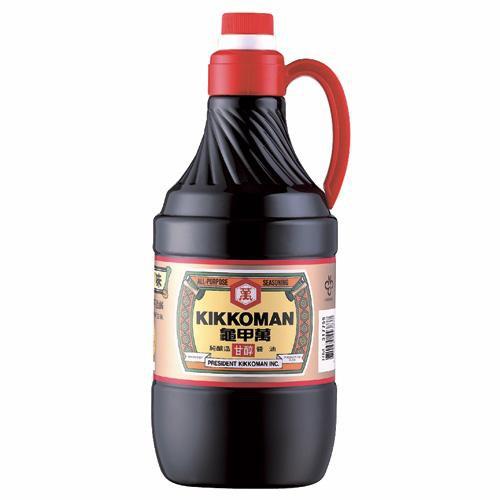 統一龜甲萬甘醇醬油1.6L【愛買】
