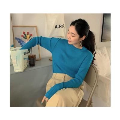 From Beginning レディース ニット/セーター Chloe Ribbed Round Knitwear