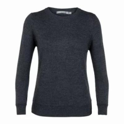 アイスブレーカー ニット・セーター Muster Crewe Sweater Char Heather
