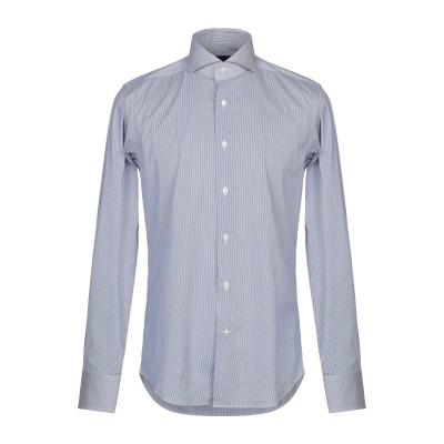 CERDELLI シャツ ブルー 40 コットン 78% / ナイロン 17% / ポリウレタン 5% シャツ