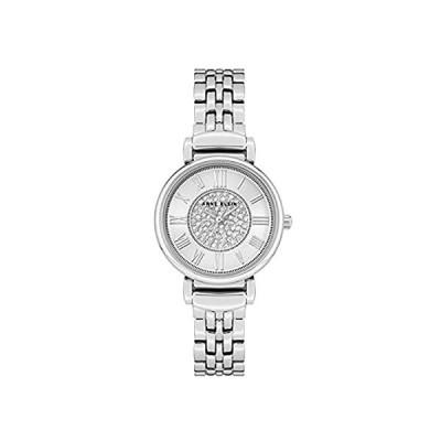 Anne Klein Women's Premium Crystal Accented Bracelet Watch好評販売中