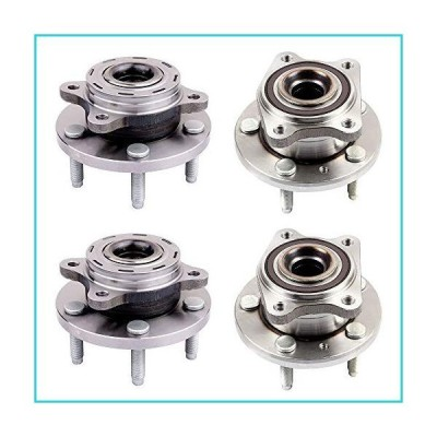 ECCPP Wheel Hub and Bearing Assembly Front and Rear 513223 fit 2005-2009 Ford 500 Freestyle Taurus Mercury Montego Sable Replacement for 5 l