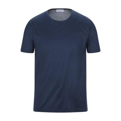 グラン サッソ GRAN SASSO T シャツ ブルーグレー 50 コットン 100% T シャツ