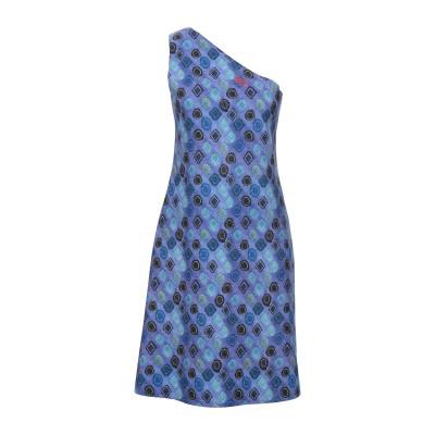 ANIMAPOP ミニワンピース&ドレス ブルー L ポリエステル 83% / ポリウレタン 17% ミニワンピース&ドレス